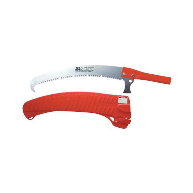 Scie 63 cm, sur perche EXP, avec étui, rouge - ARS UV-40