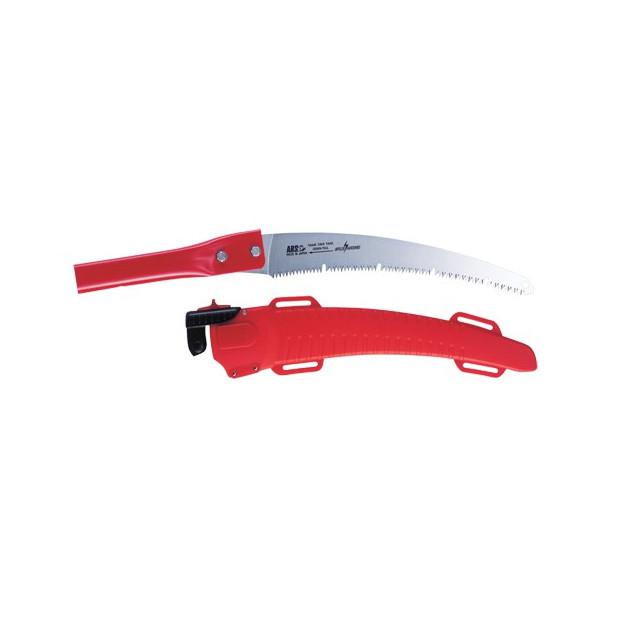 Scie 53 cm, sur perche EXP, avec étui, rouge - ARS UV32PRO-EXP